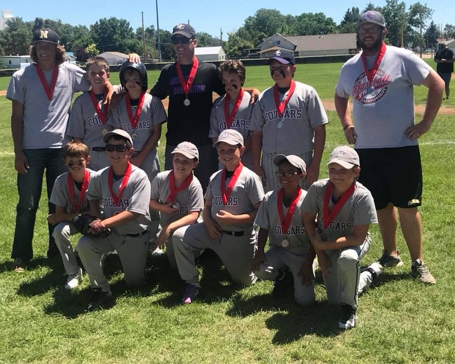Little League 2nd place 2018