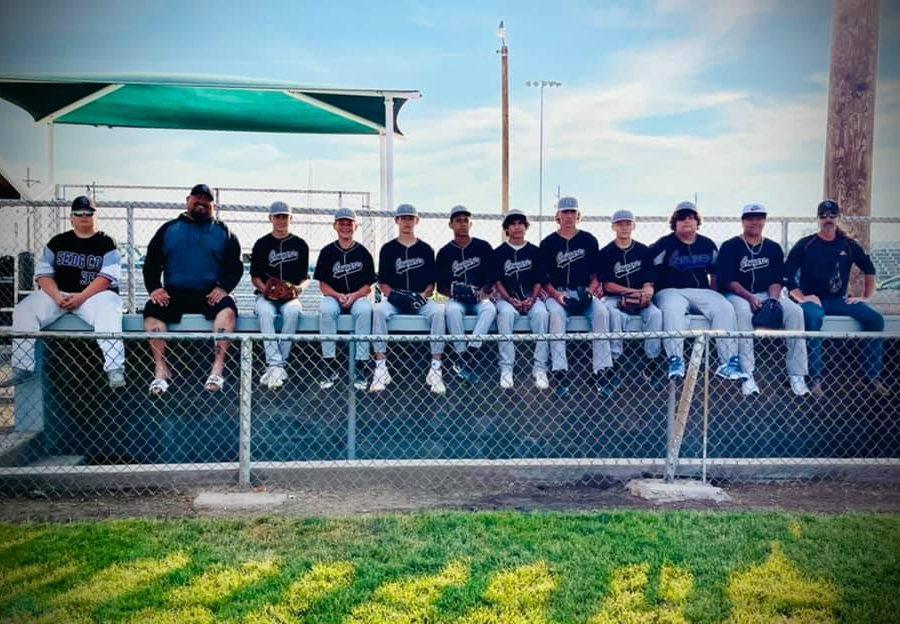 Babe Ruth 2021 team photo